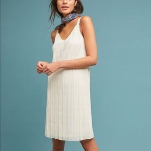 Meadow Rue by Anthropologie Cream Dress  12 - B20